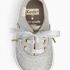 Keds Kate Spade Size 3M Baby Crib Shoe
